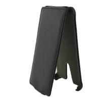Чехол-книжка вниз Sony Xperia TX, кож.зам, black