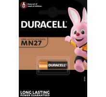Батарейки Duracell 27A MN27,12V, BL1, 1 шт в блистере