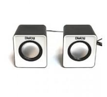 Акустика Dialog Colibri AC-02UP Black-White 2.0, 6 Вт, черно-белые, питание от USB