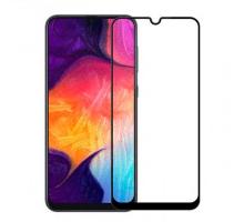 Защитное стекло 3D Samsung A10/A10s/M10, black, ALFA-TECH