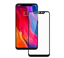 Защитное стекло 3D Xiaomi Mi 8/8 Pro, black