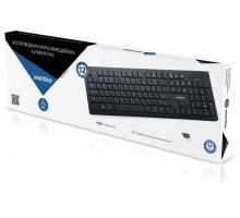 Клавиатура беспроводная  Smartbuy 206 черная мультимедийная (SBK-206AG-K)