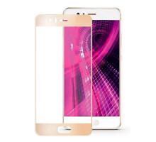 Защитное стекло 2,5D Huawei P10, gold