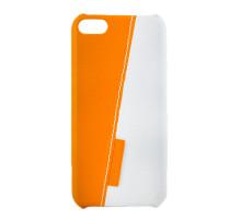 Чехол-накладка iPod Touch 5, white-yellow, SOTOMORE