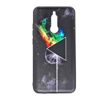 Чехол - накладка 'пластиковый матовый  - Pink Floyd' для Xiaomi Redmi 7 (цвет разноцветный, в пакете