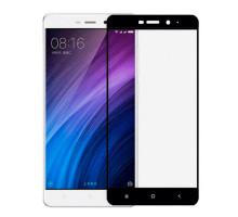 Защитное стекло 2,5D Xiaomi Redmi 4A, black