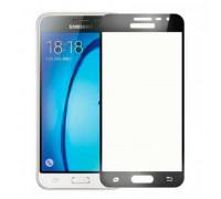 Защитное стекло 2,5D Samsung J320/J3 2016, black