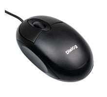 Мышь Dialog Comfort Optical MOC-10U - 3 кнопки + ролик прокрутки, USB, черная