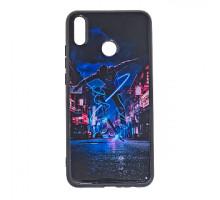 Чехол - накладка 'пластиковый лаковый с рисунком - Скейтер' для Galaxy A205 A20/A305 A30 (2019) (цве