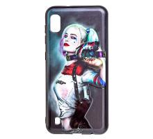 Чехол - накладка для Honor 7C Pro/Y7 Prime (2018) - пластиковый матовый  - Harley Quinn (цвет чёрный