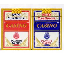 Карты игральные пластиковые Poker(P-022 Casino)(54листа/№99 Club Special)