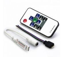 Mini Контроллер RGB инфрокрасный с пультом, 5-24Вольта,2А (SBL-RGB-Mini)