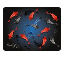 Коврик Dialog PM-H17 fish - черный с цветными рыбками