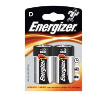 Батарейки Energizer LR20, BL2, 2 шт в блистере