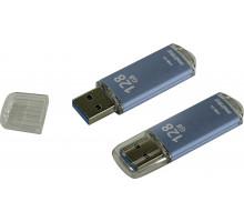 Флэш-карта Smartbuy 128 Gb USB3.0, V-Cut, синяя (SB128GBVC-B3)
