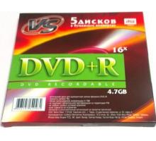 DVD+R VS 4.7 Gb 16x конверт/5