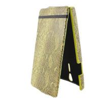 Чехол-книжка вниз Sony Xperia S, кожа, yellow
