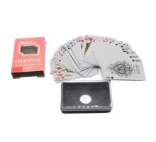 Карты игральные пластиковые Poker(P-004 OKRoyal)(54листа)