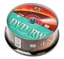 DVD+RW VS 4.7 Gb 4x Cake Box/25