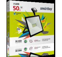 Светодиодный (LED) прожектор Smartbuy-50W/6500K/I65 (SBL-FLSen-50-65K) FL Sensor