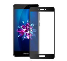 Защитное стекло 3D Honor 8 Lite, black, в тех.упаковке