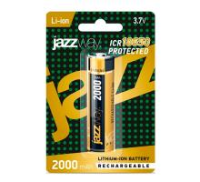 Аккумулятор 18650 Li2000mAh 3.7v, с защитой, JAZZwey