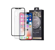 Защитное стекло 2,5D Huawei Mate 9 pro, black, REMAX Crystal,+ чехол