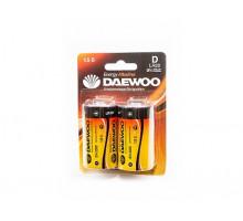 Батарейки Daewoo R20 2BL, 2 шт в блистере
