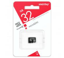 Карта памяти Smartbuy microSDHC 32 Gb class 10