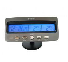Часы для автомобиля VST7045 (температура, будильник, дата)