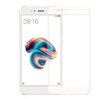 Защитное стекло 3D Xiaomi Mi 5X/A1, white
