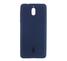 Чехол-накладка Nokia 3.1, cиликоновый, blue, CHERRY CASE