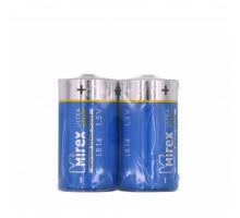 Батарейки Mirex LR14, SR2, 2 шт в термопленке
