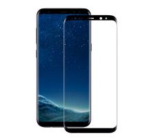Защитное стекло 2,5D Samsung S8, black, REMAX Crystal, + чехол