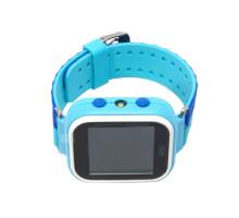 Часы детские Q60, с GPS трекером, синие-голубые