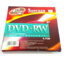 DVD+RW VS 4.7 Gb 4x (5 конверт)