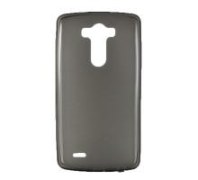 Чехол-накладка LG G3, силиконовый, затемненный