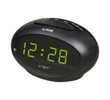 Часы настольные VST711-2 зеленые цифры