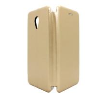 Чехол-книжка Meizu M5, вбок, brown, FASHION CASE