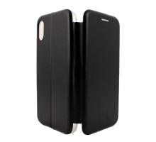 Чeхол-книжка iPhone XS Max, вбок, black, FASHION CASE