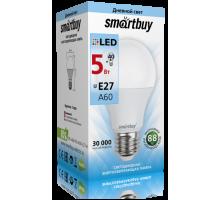 Светодиодная (LED) Лампа Smartbuy-A60-05W/4000/E27 (SBL-A60-05-40K-E27-A)