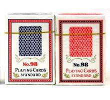 Карты игральные пластиковые Poker(P-015 №98)(54листа)(str)