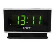 Часы настольные VST721-2 зеленые цифры