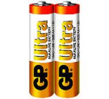 Батарейки GP LR06 AA 2 SH Ultra, 2SR, 2 шт в термопленке (40 шт/уп)