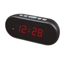 Часы настольные VST712-1 220В красные цифры
