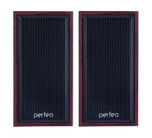 """Акустика 2.0 Perfeo PF-84 """"Cabinet"""", 2х3 Вт (RMS), махагон, USB (PF_A4388)"""