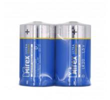 Батарейки Mirex LR20, SR2, 2 шт в термопленке