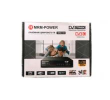 Цифровой ресивер MRM-Power T6000C DVB-T2/C для цифр.TV, Wi-Fi, IPTV, HDMI, USB, пульт