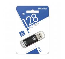 Флэш-карта Smartbuy 128 Gb USB3.0, V-Cut, черная (SB128GBVC-K3)