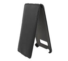 Чехол-книжка вниз HTC Desire 600, кож.зам, black